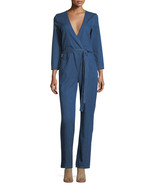NWT $365 3x1 NYC MOXY ARK STRAIGHT-LEG DENIM PANTSUIT JUMPSUIT M - $132.99