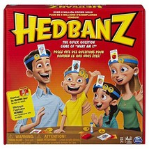 Hedbanz, Quick Question Family Guessing Game for Kids and Adults (Edition May Va - $25.63