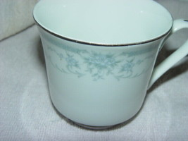Sheffield Blue Whisper Porcelain Fine China 1985 Japan Coffee Cup - $14.00