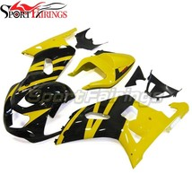 Yellow Black Fairings for 2000 2001 2003 Suzuki GSXR600 2002 GSXR750 00 ... - $667.82