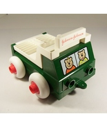 Vintage Johnson & Johnson Stack and Dump Truck Toy Made in USA 1983 - $7.99