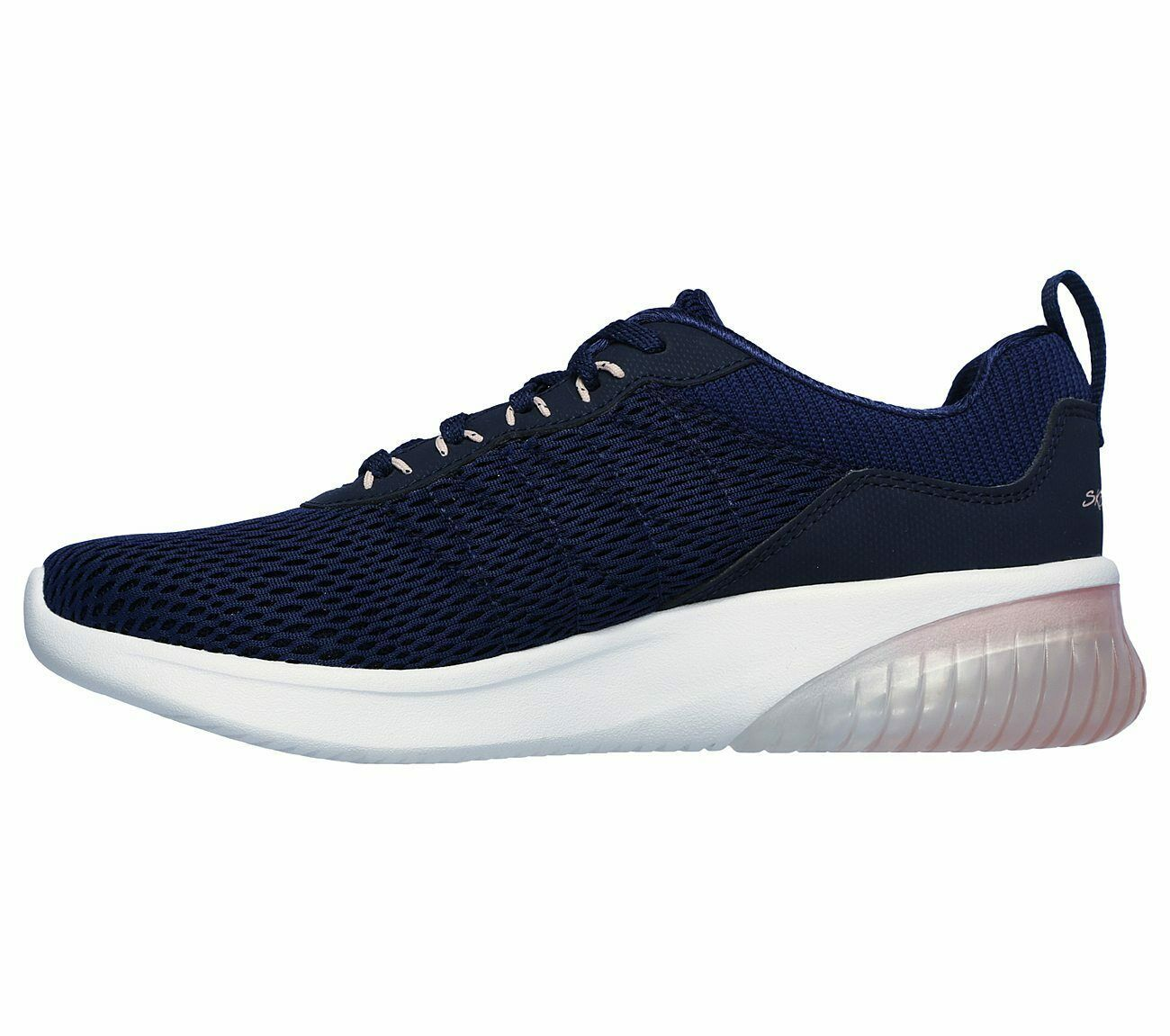 Skechers Navy Pink shoes Memory Foam Women's Sporty Air Ultra Flex Comfort 13290 image 3