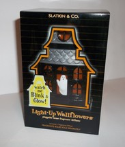NEW Bath & Body Works Light Up Wallflower Diffuser Halloween Ghost Haunted House - $20.00