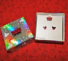 Disney Mickey & Minnie Mouse Enamel Pierced Earrings image 3