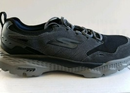 Skechers Go Walk Outdoors Voyage 54131 Mens Size 11 Charcoal Black New Unworn - $88.98