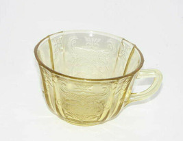 Vintage Depression Glass Yellow Cup - $16.81