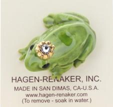 Hagen-Renaker Miniature Ceramic Frog Figurine Birthstone Prince 04 April image 3