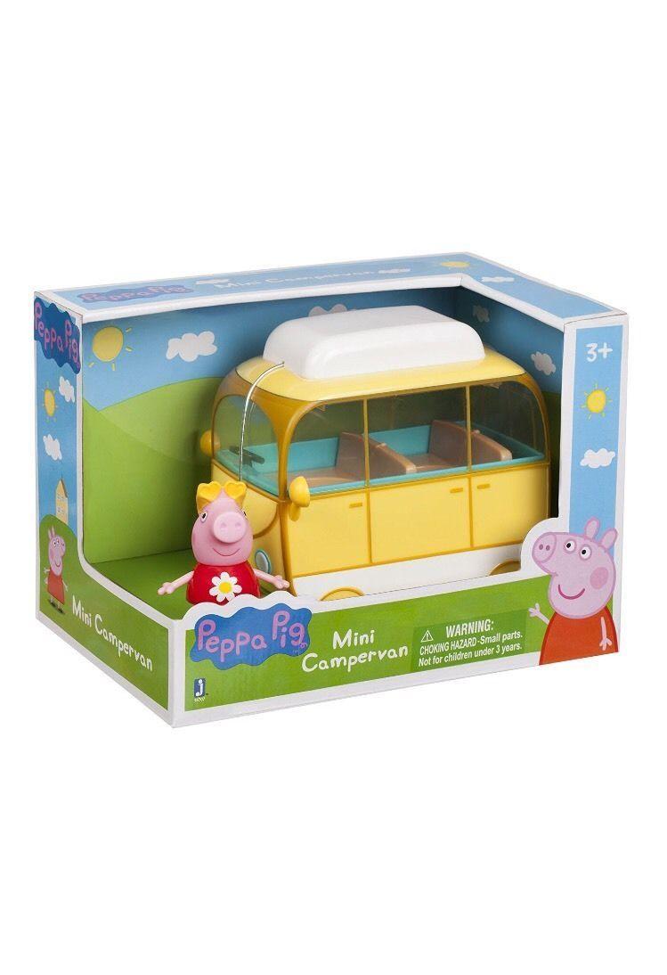 Peppa Pig - Mini Campervan Toy [New]