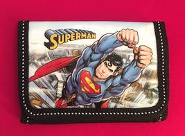Cool Superman Children's Wallet— Boy's Gift   More Fun Characters Available Too