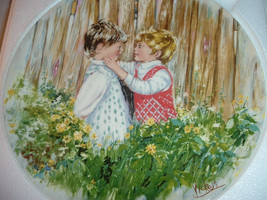 1981 Wedgwood Mary Vickers 1st issue Be My Friend Collector Plate w Box & COA - $12.99