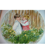 1981 Wedgwood Mary Vickers 1st issue Be My Friend Collector Plate w Box ... - $12.99