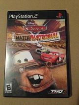 Playstation 2 Cars Mater National Championship - $6.50