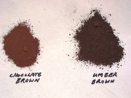 385-25 Umber Brown Concrete Powder Color 25 Lbs. Makes Stone Pavers Tiles Bricks image 2