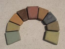 385-25 Umber Brown Concrete Powder Color 25 Lbs. Makes Stone Pavers Tiles Bricks image 5