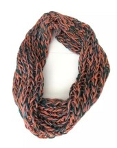 Violet Del Mar Infinity Cowl Scarf Chunky Cable Knit Wrap Yarn Anthropol... - €13,71 EUR
