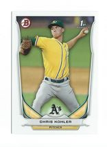 2014 Bowman Chris Kohler Rookie Cards A's - $0.99