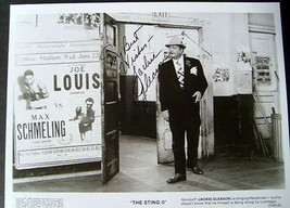 "JACKIE GLEASON ""THE STING 2"" AUTOGRAPHED PHOTO - $148.50"