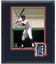Lance Parrish Detroit Tigers - 11 x 14 Team Logo Matted/Framed Photo - $43.55