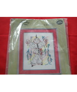 SOMETHING SPECIAL CREWEL EMBROIDERY  KIT.  CLOWN PICTURE. NEW.  - $7.99