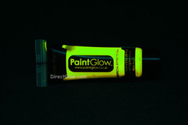 PaintGlow 10ml/.34oz Glow in the Dark Face and Body Paint- Yellow - $6.50