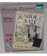Friends Forever I Love My Shoes 300 Piece Puzzle with Poster Included - $8.95