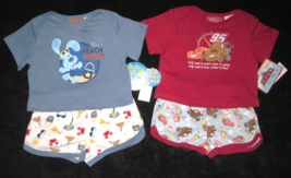 BOYS 3-6 MONTHS Blues Clues Beach Party & Disney Pixar Cars Red TWO PLAY... - $8.99