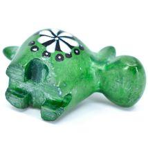 Tabaka Chigware Hand Carved Soapstone Green Hippopotamus Hippo Miniature Figure image 5