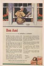Bon Ami Antique Ad 1915 Powder Ben Austrian Bab... - $7.99