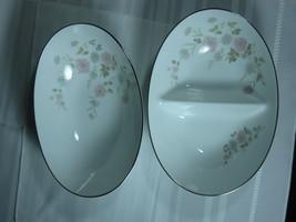 """Noritake Barbara 6009  Serving bowls TWO  10""""  ... - $55.95"""