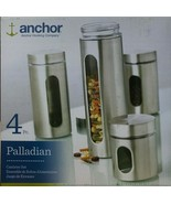 Anchor - 97564 - Hocking 4 Pc. Palladian Brushed S/S Window Cylinder Set - $49.45