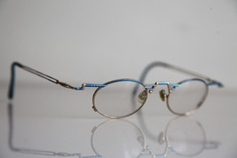 Eyewear,  Gold  Frame,  Blue, RX-Able   Prescription Lenses. - $17.82