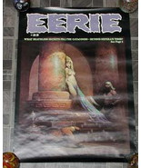 Eerie #23 Monster Magazine Poster 1970s - £17.64 GBP