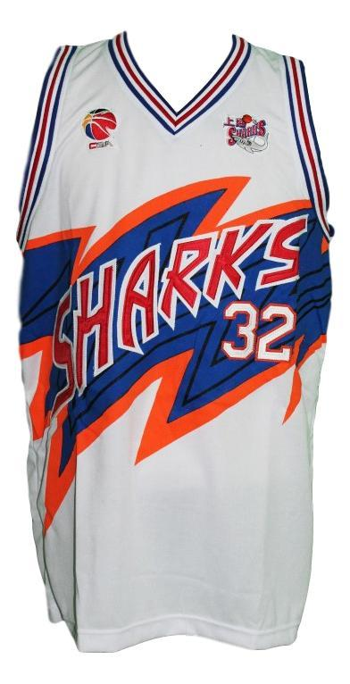 Jimmer Fredette #32 Shanghai Sharks Basketball Jersey New Sewn White Any Size