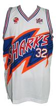 Jimmer fredette  32 shanghai sharks basketball jersey white   2 thumb200