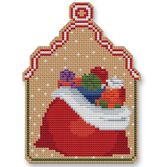 Christmas sack ornament kit