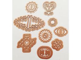 Spellbinders Shapeabilities Ribbon Buckles Die Set #S4-362 image 2