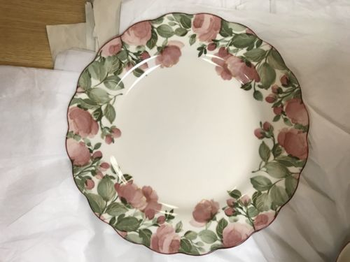 Nikko Dena Dinner Plate - Japan - Pink Flower Pattern image 6