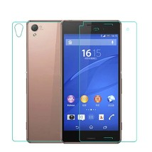Front + Back Tempered Glass Film Screen Protector For Sony Xperia Z3 - $11.98