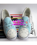 My Neighbor Totoro Paint Sneakrs, Cool Slip  On Canvas Shoes, Not Converse - ₨2,925.55 INR