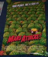 Tim Burton Mars Attacks Poster Martians New - £17.64 GBP