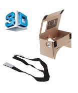 Google Cardboard Virtual Reality 3D Glasses for Mobile Phone 5.0 Screen ... - $8.60