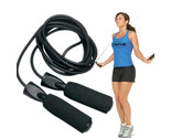 Practical Aerobic Exercise Skipping Jump Rope Adjustable Bearing Speed Fitness S