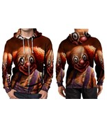 Smile Badut HOODIE ZIPPER FULLPRINT MEN - $55.99+