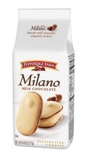 Pepperidge Farm Milk Chocolate Milano Cookies, 6.25-Ounce (Pack of 4) - $30.68