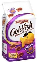 Pepperidge Farm Goldfish, Pretzel, 8-ounce bag (pack of 6) - $31.48