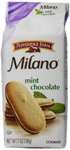 Pepperidge Farm Milano Cookies, Mint, 7 Ounce (Pack of 12) - $65.33