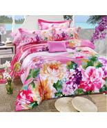 Bedding Set Print Reactive100% Cotton High Thread Count 4 pcs floral set... - $141.00+