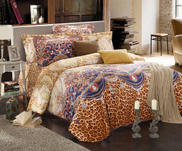 Bedding Set Print Reactive100% Cotton High Thread Count 4 pcs floral set 3-18 - $141.00+