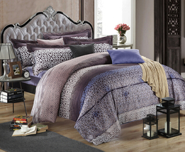 Bedding Set Print Reactive100% Cotton High Thread Count 4 pcs floral set 3-23 - $141.00+