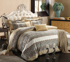 Bedding Set Print Reactive100% Cotton High Thread Count 4 pcs floral set 3-25 - $141.00+